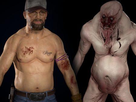 Zombie survivor & Monster