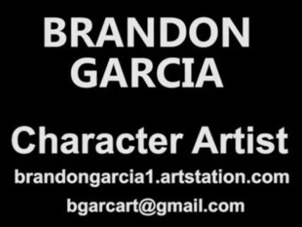 Brandon Garcia 2020 Character art Reel