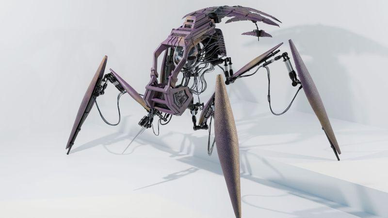 Alien Scout Robot