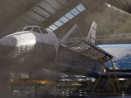 STS-135 Atlantis Shuttle