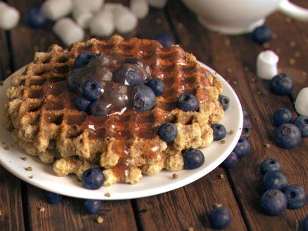 Blueberry Waffles - Look Development