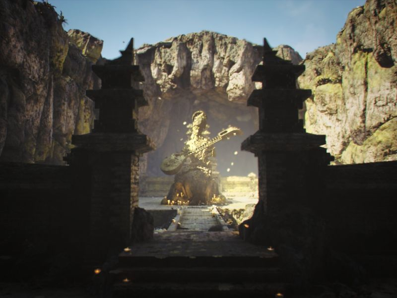 Saraswati Temple - Realtime Environment