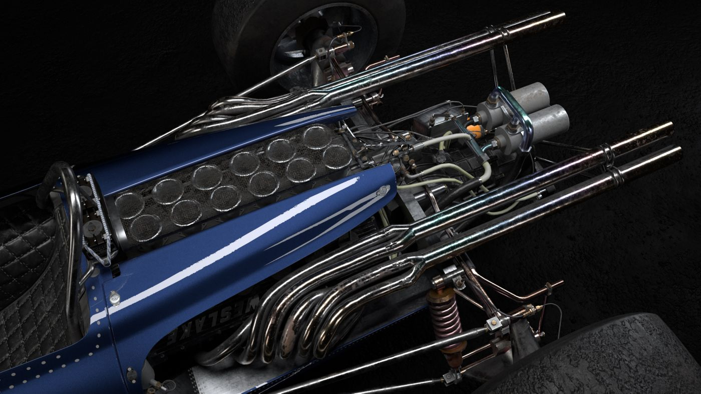 Car Look Dev V05 Briannl