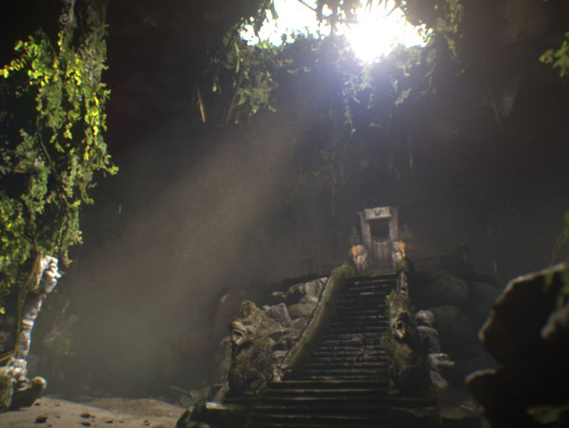 Balinese Cave   Realtime Environment