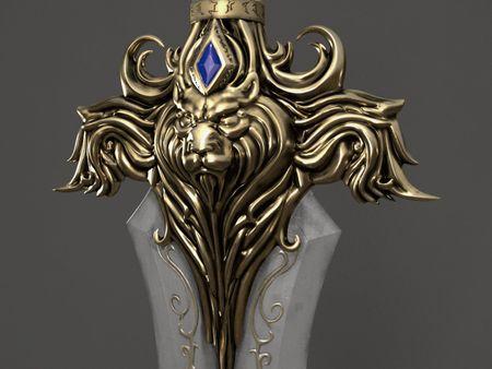 Llane Wrynn Sword Warcraft