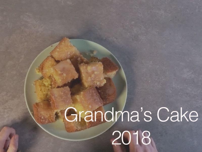 Grandma's  Lemon Drizzle Cake- Tracking Project