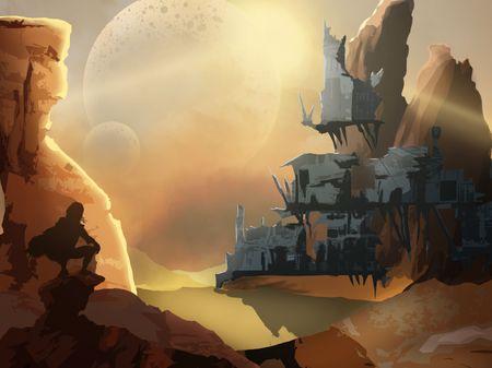 Dust-Back: Forgotten Souls Environment Design