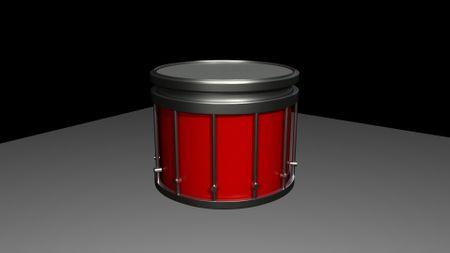 Yamaha SFZ Marching Snare Drum (WIP)