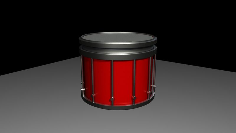 Yamaha SFZ Marching Snare Drum (WIP)