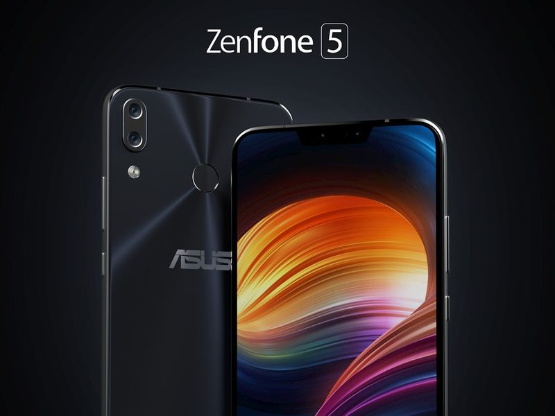Zenfone 5 Product Render