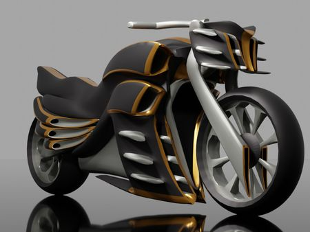 Motor bike 01