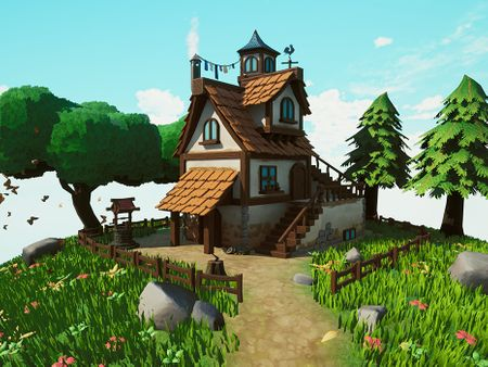 3D Stylized House - Game Environment