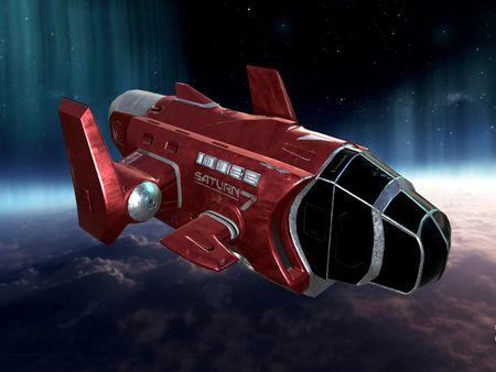 SATURN 7 Spaceship - 3D Model