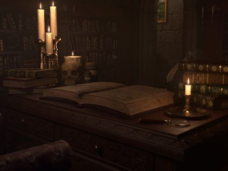 Wizards Library – 3D Environment
