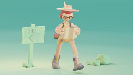Exploradora - 3D Character