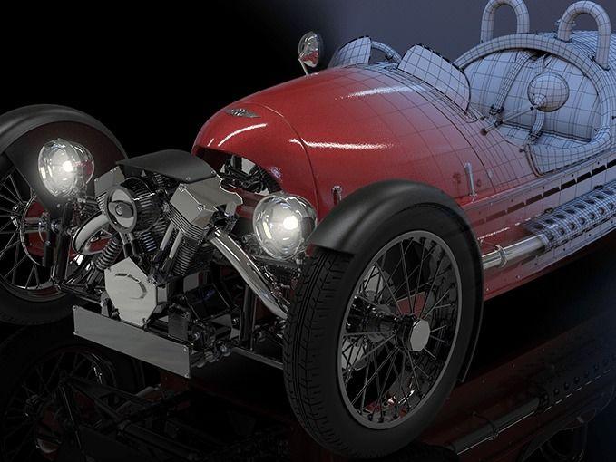 Restored 1929 Morgan 3 Wheeler