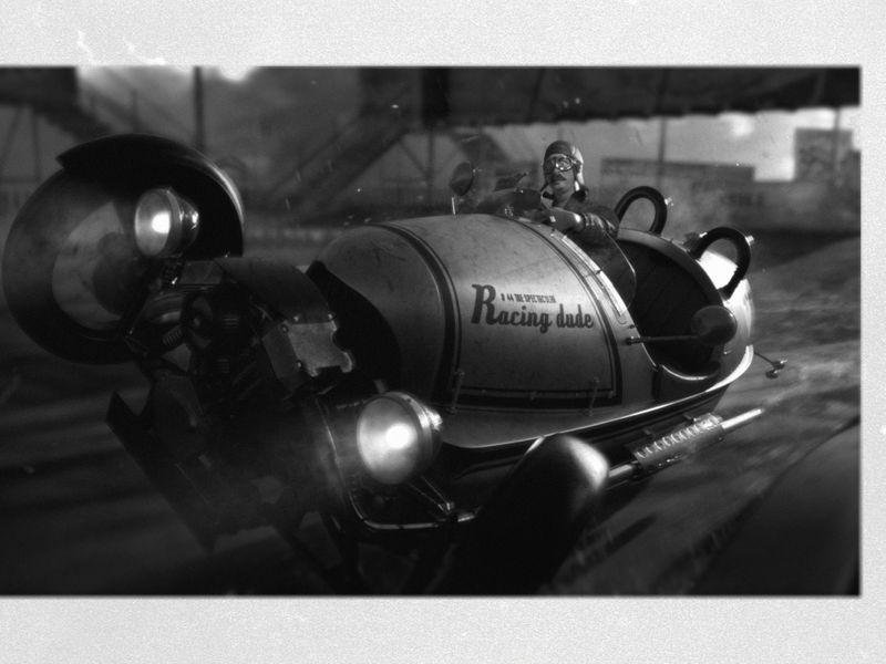 '30s Racing Dude