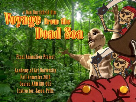Voyage from the Dead Sea