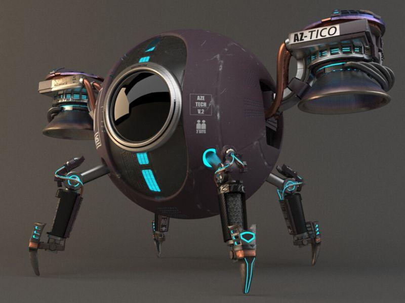 Sputnik - AZEtech V2