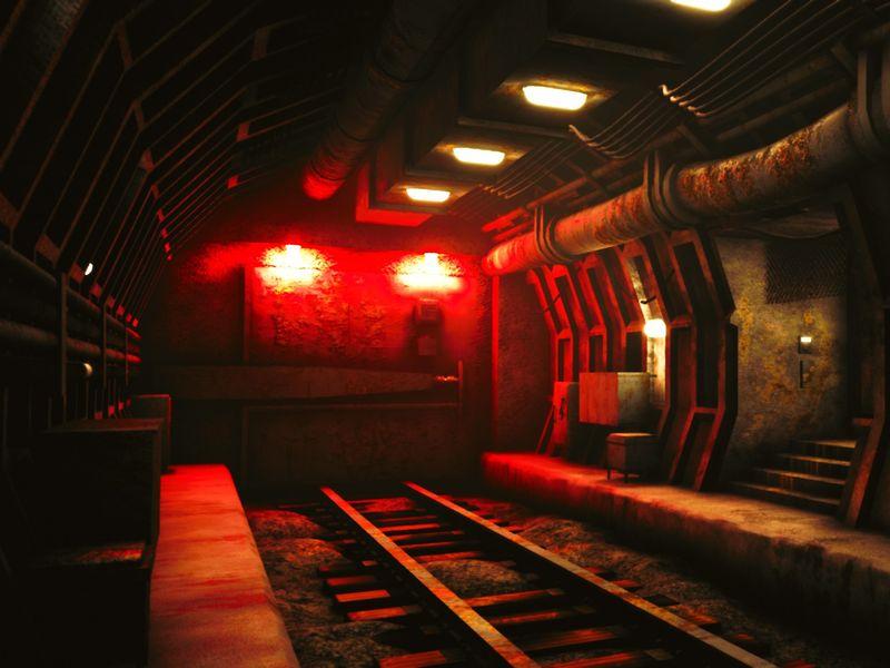 Old Abandoned Metro