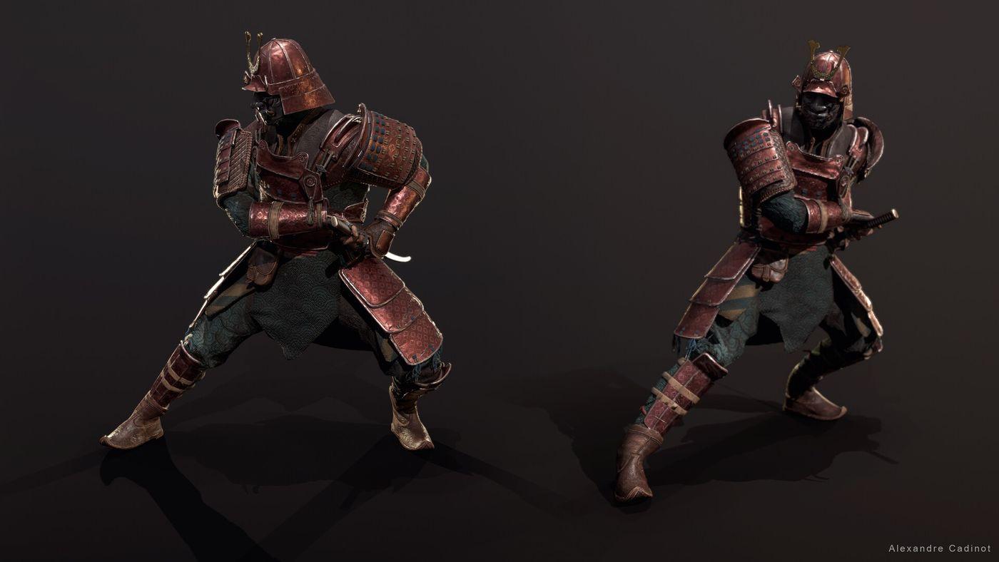 Alexandre Cadinot Cadinot Samurai Lineup03 Cadinot