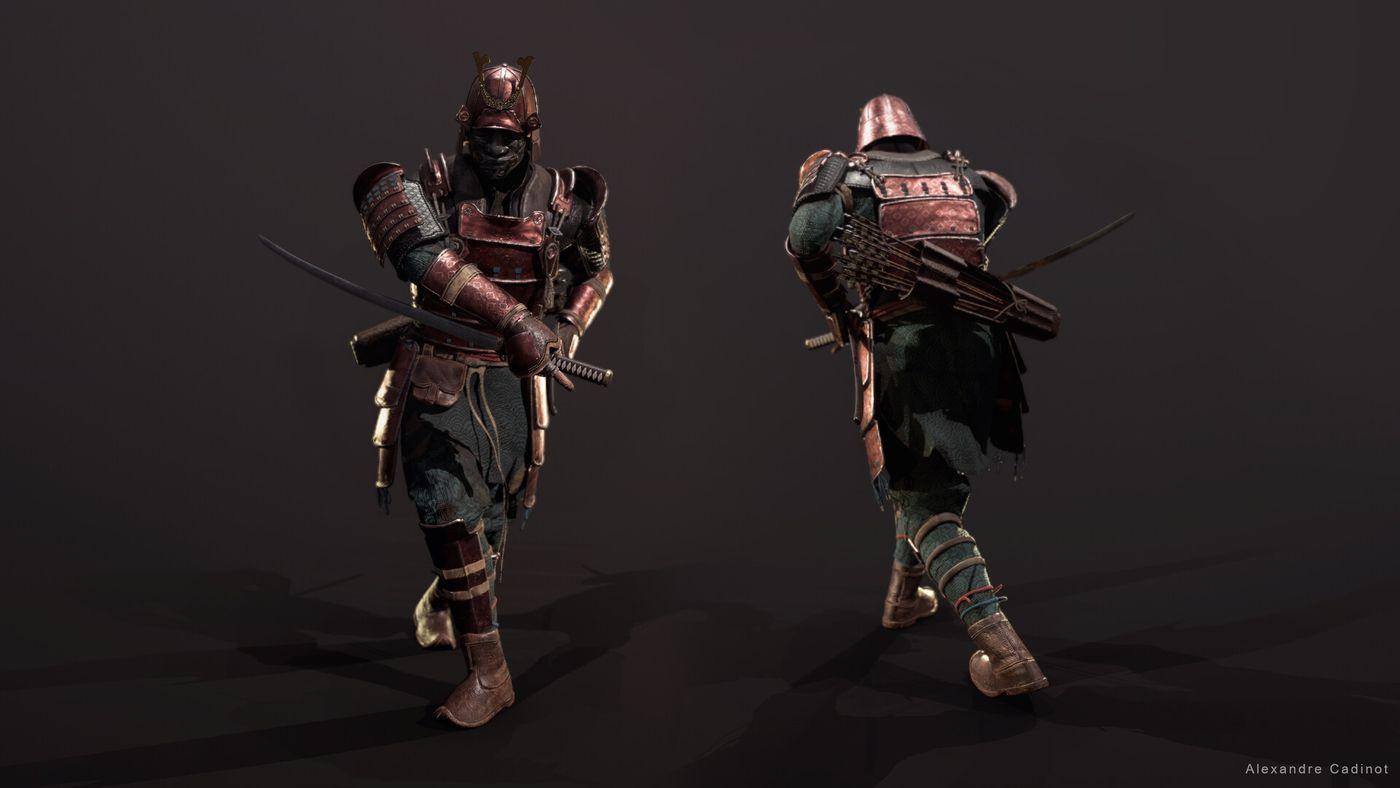 Alexandre Cadinot Cadinot Samurai Lineup04 Cadinot