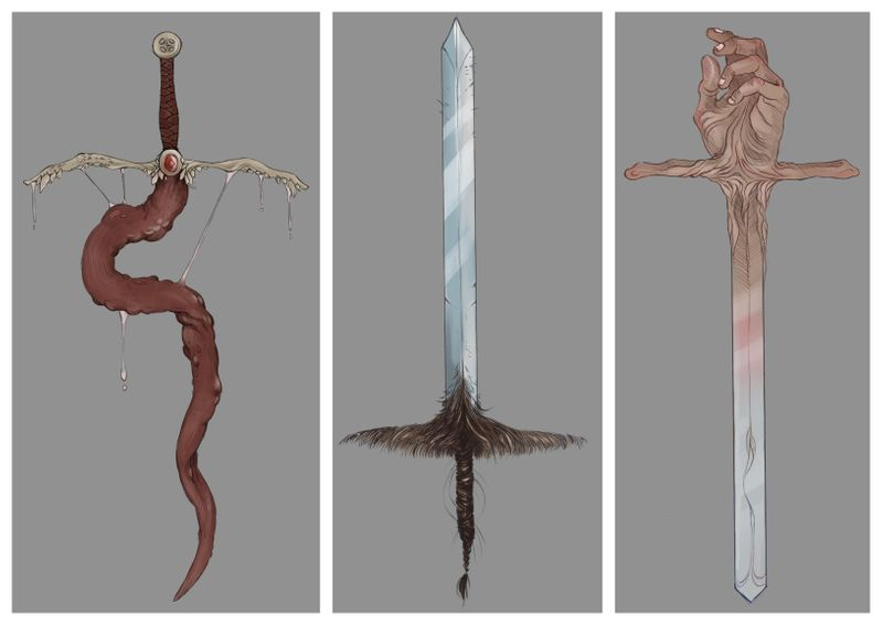 UNCOMFORTABLE SWORDS