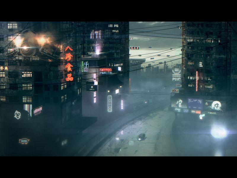 Cyberpunk DMP Shot