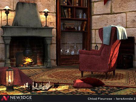 Harry Potter's fantasy Bedroom