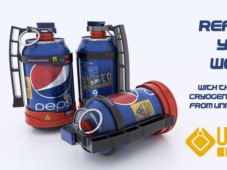 Pepsi Cryo Grenade