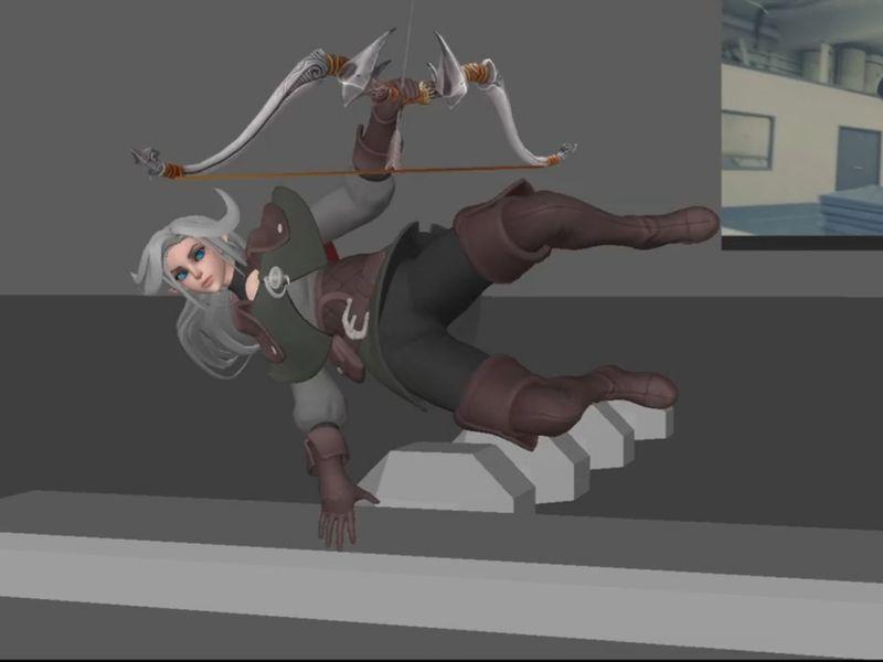 Elf trick shot