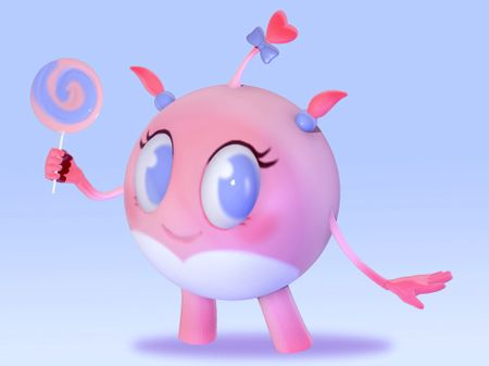 pink sphere thing