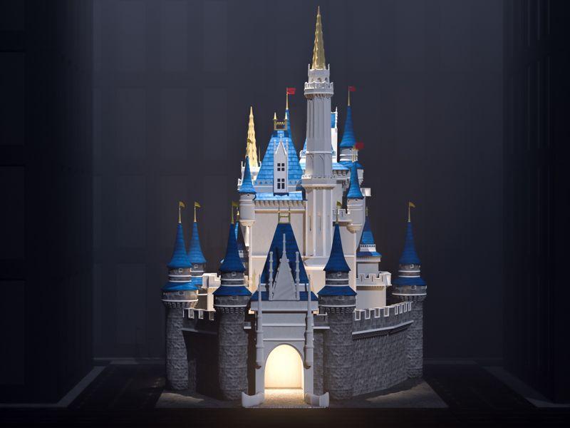 Dystopian Cinderella's Castle