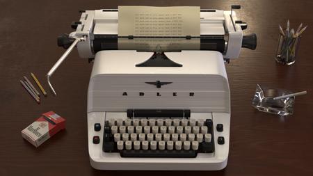 """""""The Shining"""" Typewriter"""
