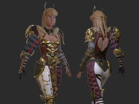 Zelda Character Piece