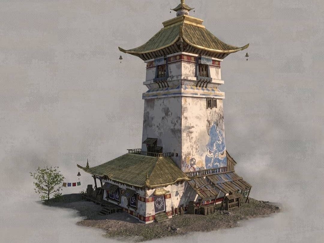 Tibetan Tower