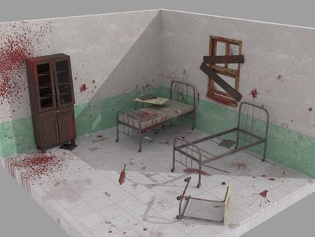 Abandoned Hospital Room AR
