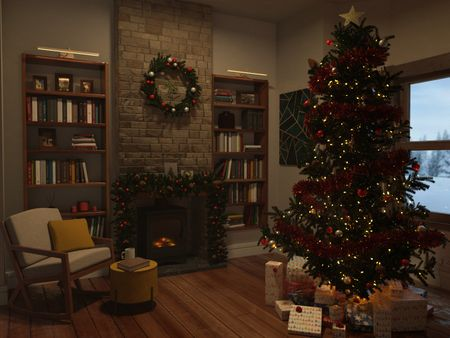 when Christmas arrives to your living room