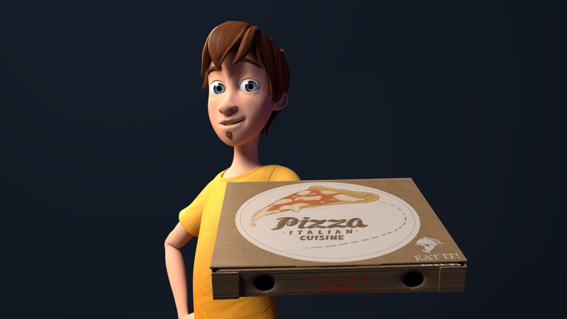 Delivery Pizza's Boy