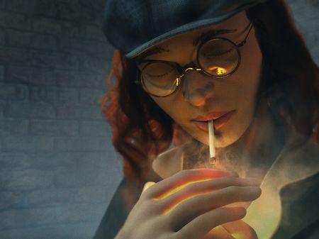 Peaky blinders Lady