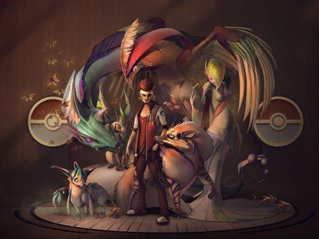 Character Design Challenge - December 2019 - Pokemon Crew