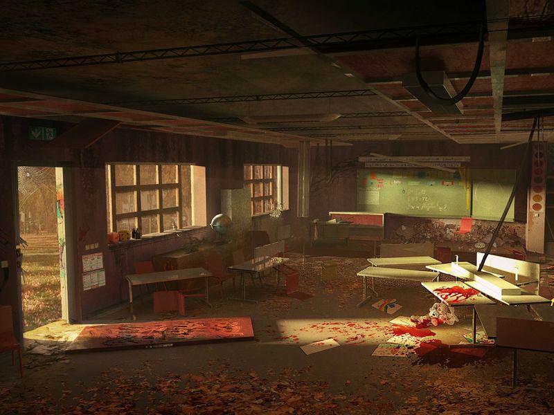 Post-apocalyptic Classroom