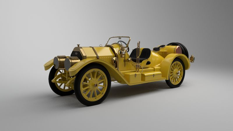 1911 Oldsmobile Autocrat Yellow Peril