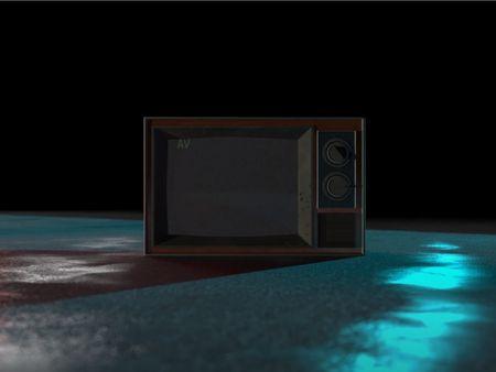 Old tv model