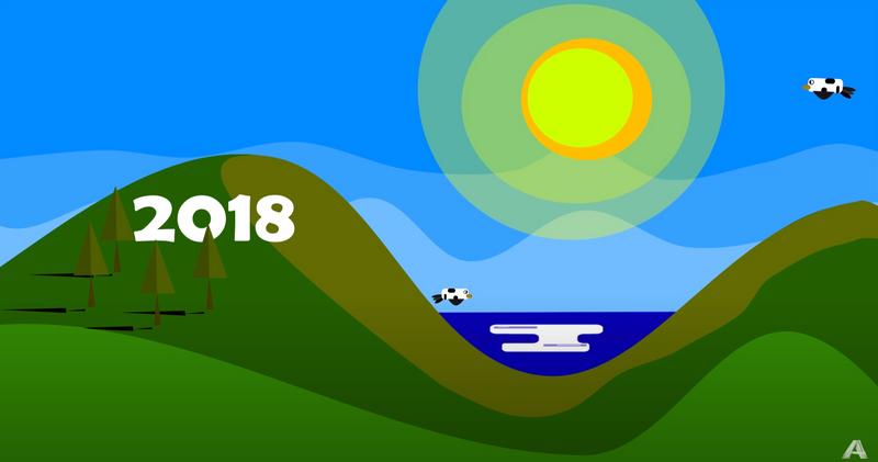 Flat Design for 2018