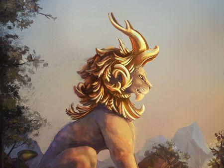 Baroque Lion