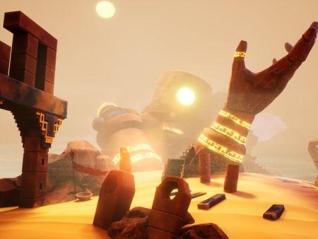 Golem in the desert