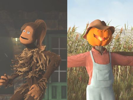 The Sasquatch & Scarecrow
