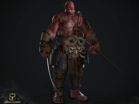 "Ryu ""The Blind Oni"""