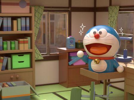Nobita's Room with Doraemon! - Fanart Project
